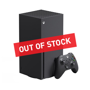 XBOX OUT OF STOCK